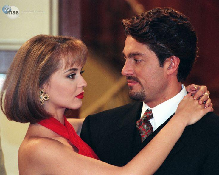 """Gabriela Spanic and Fernando Colunga, """"La Usurpadora"""" 1998"""