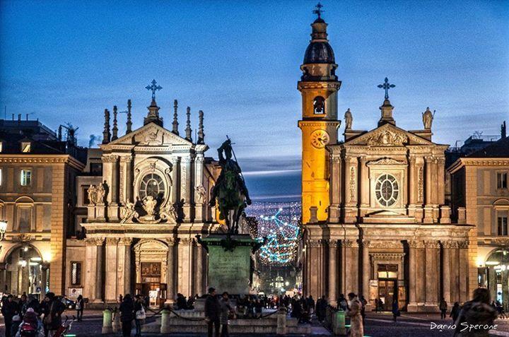 Piazza San Carlo ,Torino , dicembre 2013