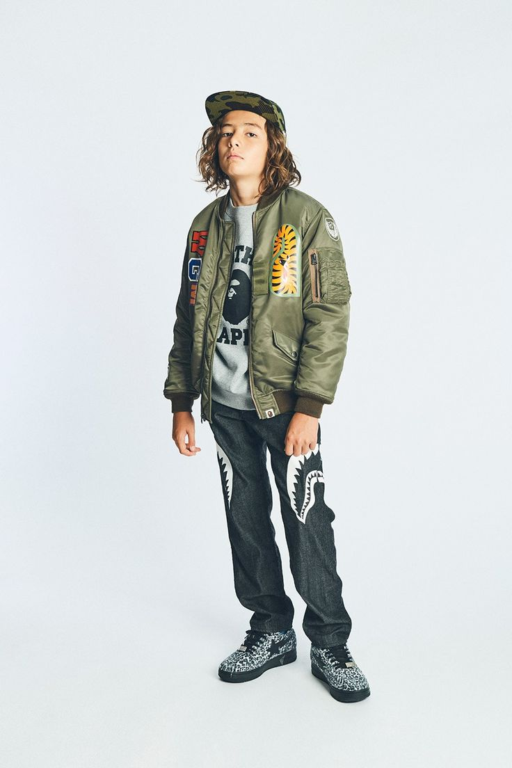 BAPE Kids Is Filled With Streetwear Essentials for Fall
