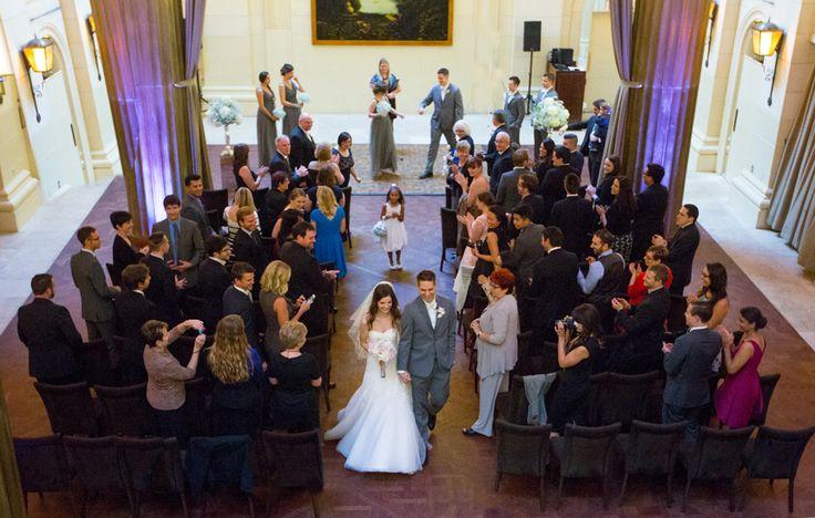 Windsor Arms Hotel Toronto wedding ceremony