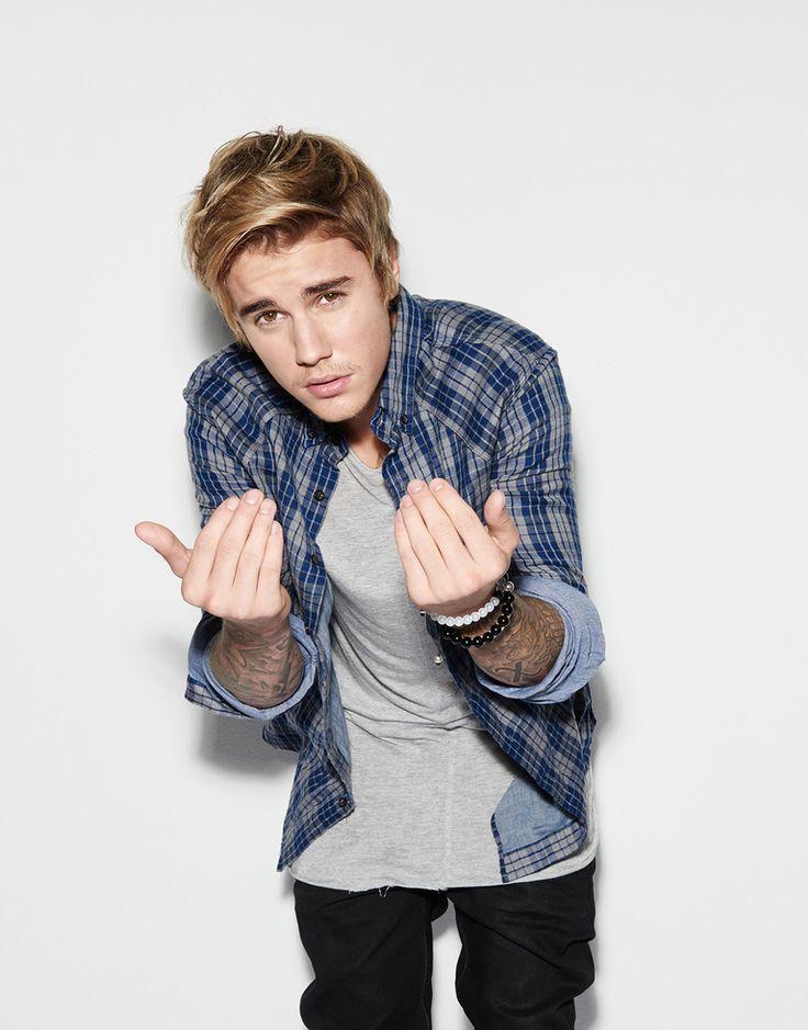 Justin Bieber para el programa Comedy Central.