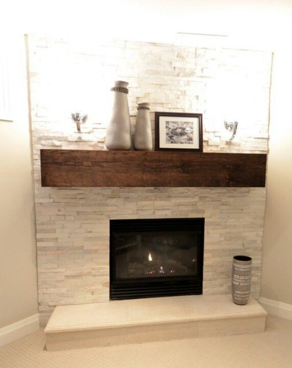 Fireplace feature wall house ideas pinterest in the for Building a corner fireplace