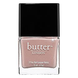 butter LONDON - 3 Free Nail Lacquer in Yummy Mummy - medium beige  #sephora