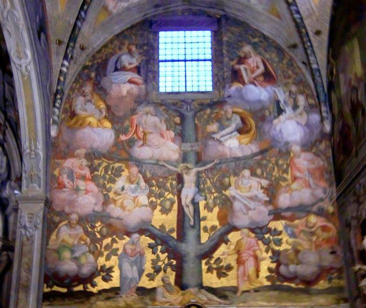 L'albero di Jesse, opera di Giuseppe Arcimboldi, si trova nel Duomo di Monza