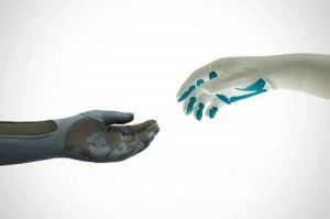 Touch-sensitive Gloves for Prosthetic Arms