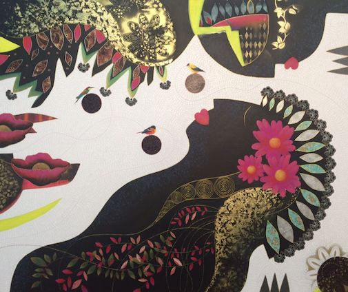 """Tribal Dream"" by Cheryl Petersen www.tuskgallery.com.au"