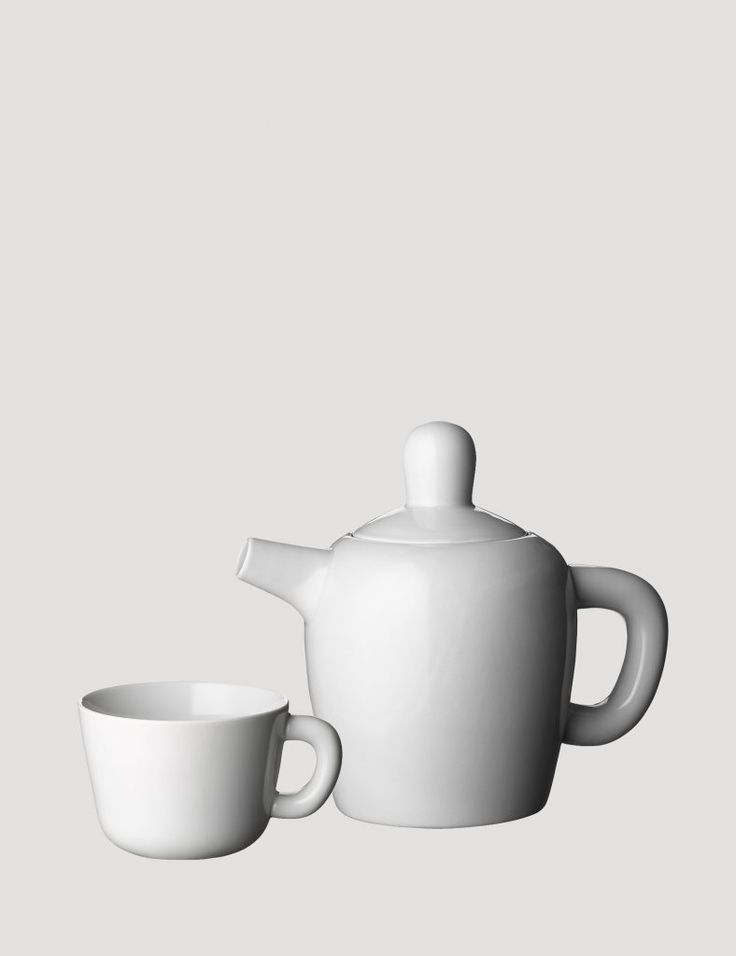 Jonas Wagell's Bulky Tea Collection: Remodelista