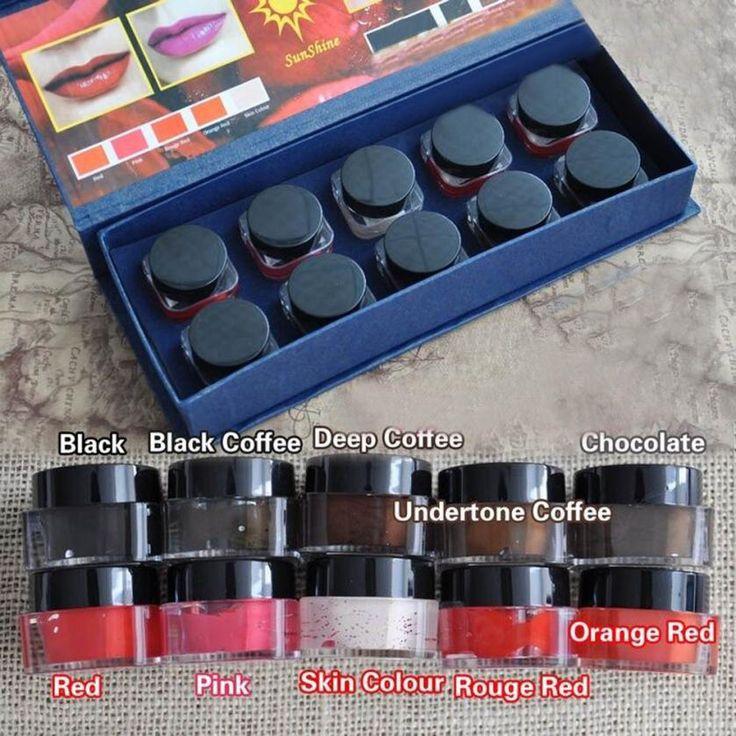 Microblading Pigment Permanent Makeup Eyebrow and Lip