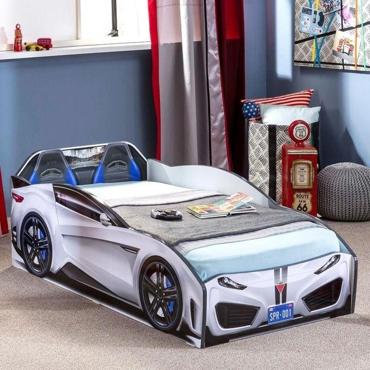 Cilek Spyder Toddler Race Car Bed (Pink) Toddler car bed