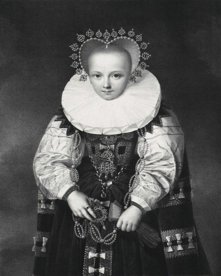 Dorothea Sibylle of Brandenburg, Duchess of Brieg (Brzeg) by Anonymous, 19th century after original by Anonymous from Germany, 1600s  (PD-art/old), Österreichische Nationalbibliothek