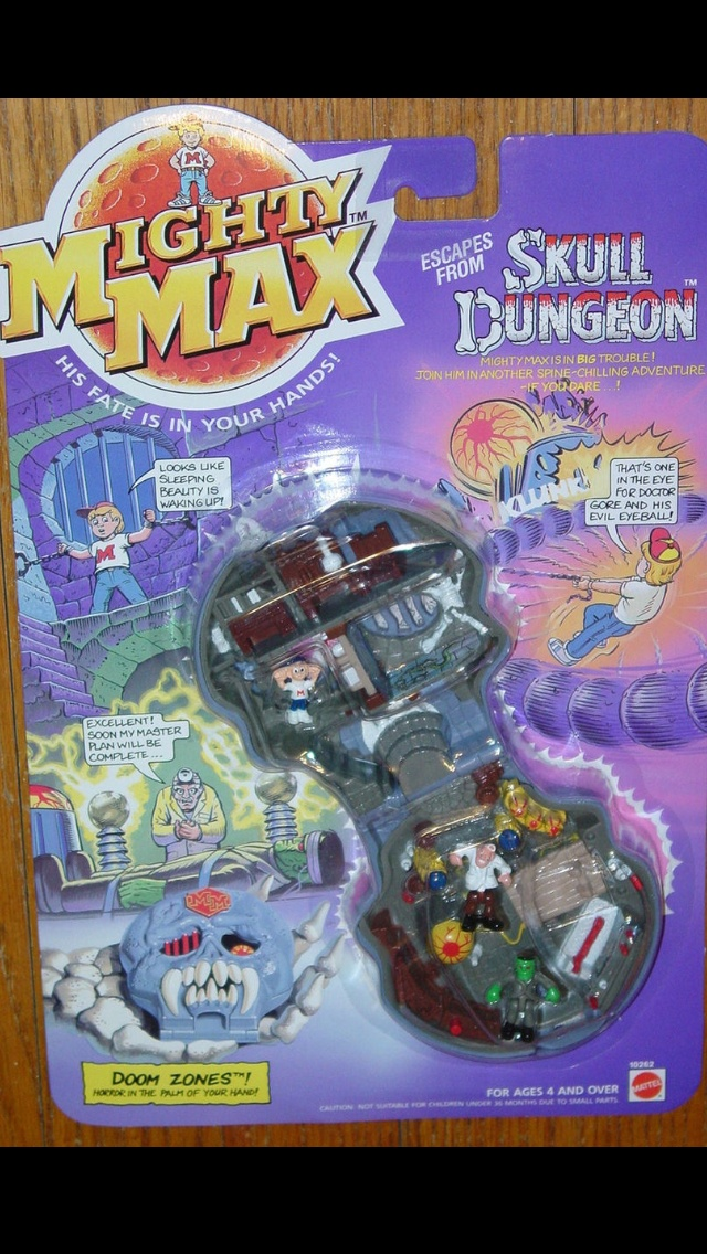 Mighty Max toys