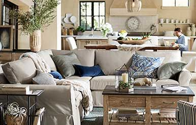 New! Pottery Barn Collections Simple white and bungalow beige are classics