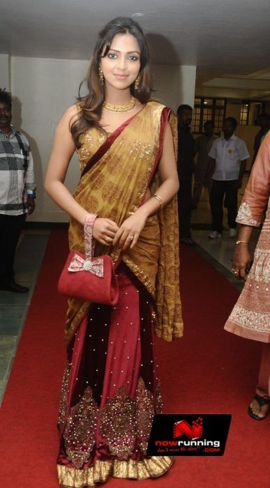Amala Paul at G.V. Prakash Kumar and Saindhavi Wedding Reception