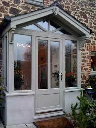 brick, wood and glass porch uk - Google Search