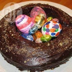Foto de receta: Rosca de Pascuas de chocolate