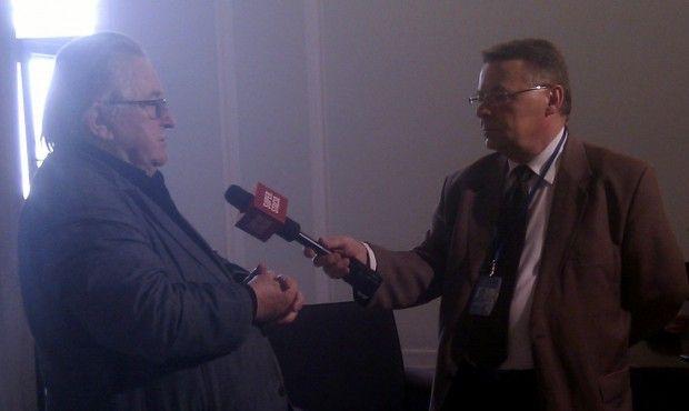 Kazimierz Kutz: To historyczny dzień dla Górnoślązaków. Kazimierz Kutz w sejmie po rejestracji Komitetu Inicjatywy Ustawodawczej projektu ustawy o zmianie ustawy o mniejszościach narodowych i etnicznych oraz o języku regionalnym.