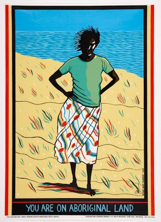 You are on Aboriginal land :: Museum of Contemporary Art AustraliaMarie Mcmahon, Redbak Graphix