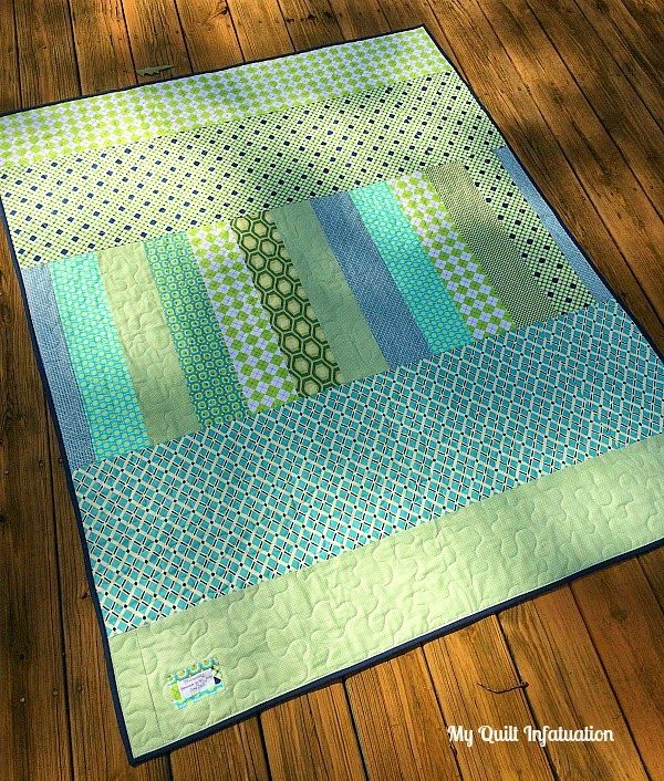 My Quilt Infatuation: Bluebonnets for Baby