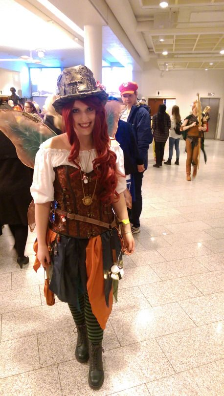 Moonmaiden  - my steampunk fairy costume