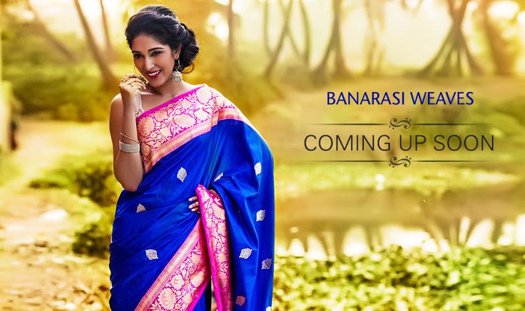 Banarsi Silk Sarees Coming Up Next Yet again from the holy city of Banaras, Shatika is coming up with an out of the world collection of Banarasi silk sarees made from fine Katan silk. From out and out traditional designs to fancy ones, from heavily brocaded ones to zari less plains, there is a big spread waiting to be served!