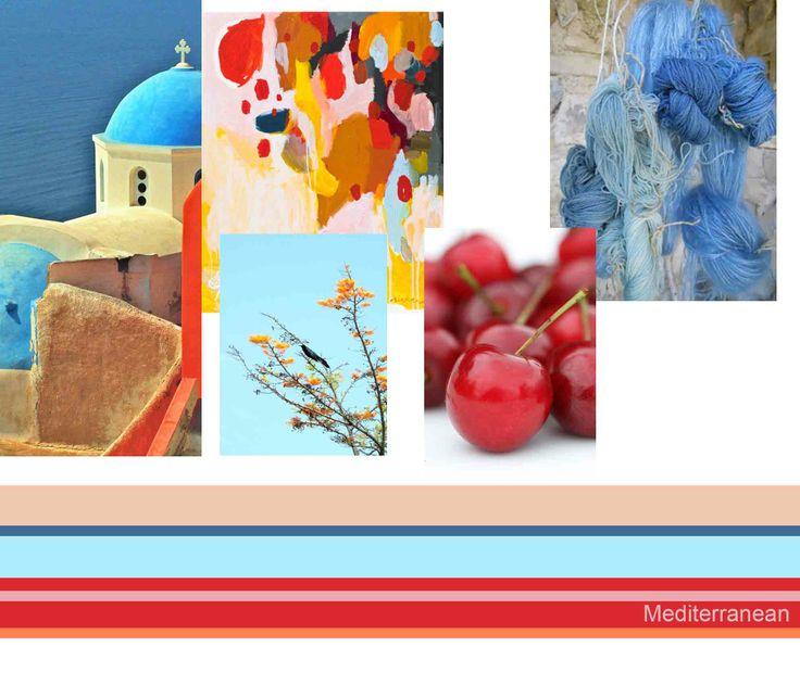 Spring Sumer 14 Palette  #colour #harmony  Martina Botelho