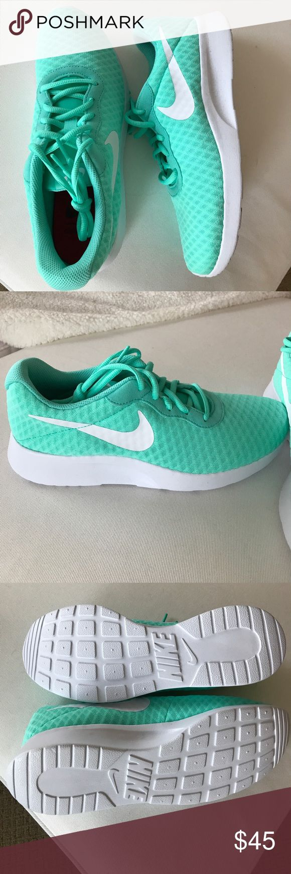Nike Tanjun SE in Hyper Turquoise Brand new. Never worn. Amazing color for spring!! Original box is not included. Nike Shoes Athletic Shoes