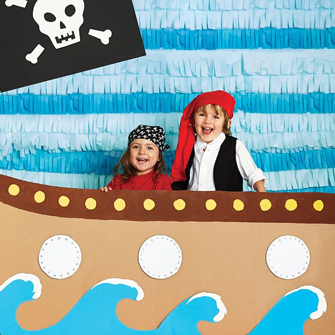 Set sail with your best mates for an adventure on the high seas with these pirate-themed birthday party ideas.