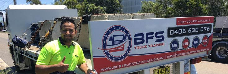 Browse BFS Truck Training for HR Licence, HC Licence, MC Licence, MR Licence and all other higher class truck licence in Sydney. We have professional instructor to provide you best truck licence training in friendly behavior. Contact us today for more details at  -