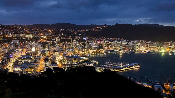 Windy Wellington at night Photo - Visual Hunt