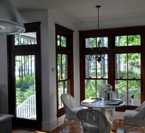 Another Example Of Wood Windows And White Base Boards · Interior  TrimInterior ...