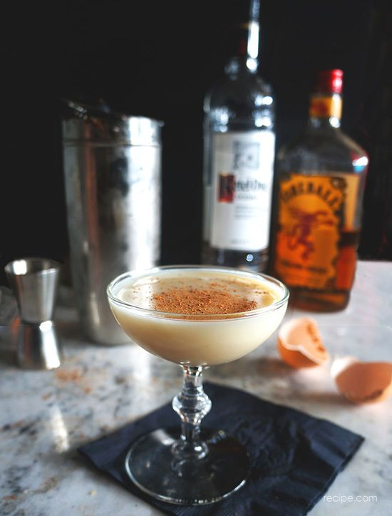 Inspired by the Cinnamon Toast Crunch shot, this well-balanced dessert cocktail has equal parts spicy, powerful Fireball and creamy, cool RumChata.