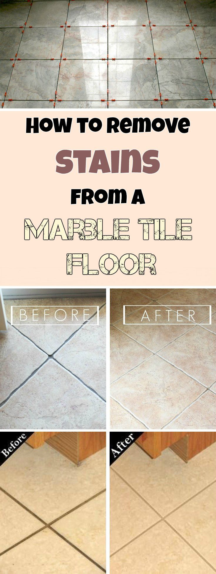 Best 25 marble floor cleaner ideas on pinterest carrera glacier how to remove stains from marble tile floor mycleaningsolutions cleaning diycleaning dailygadgetfo Images