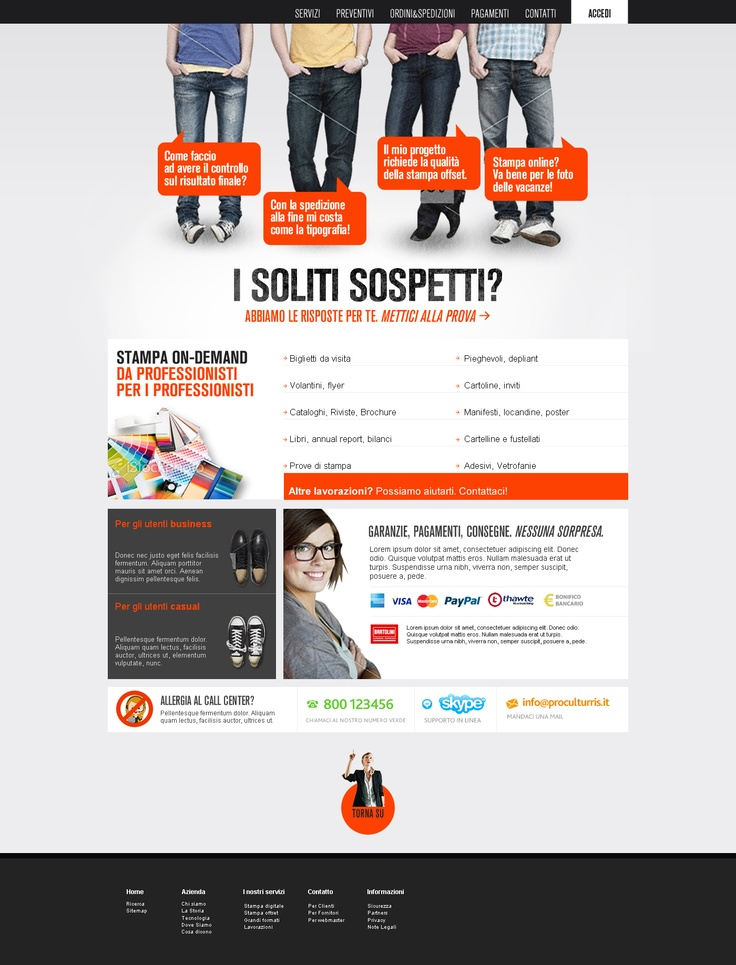 Proposal for online printing service | 2012