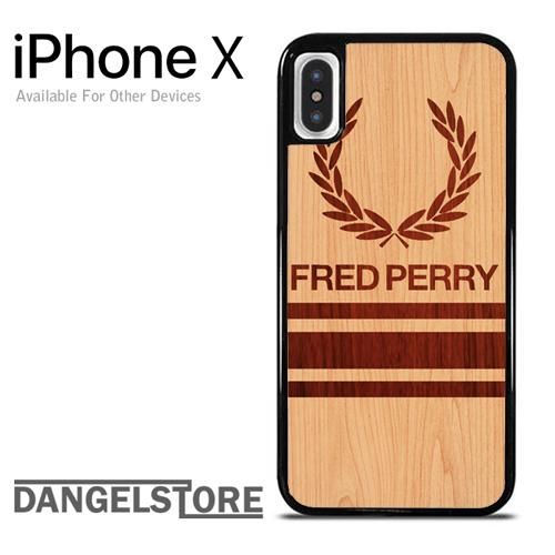 fred perry wood YD For iPhone X