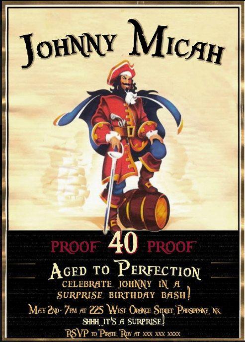 Pirate Invitation was Cool Design To Make Elegant Invitations Card