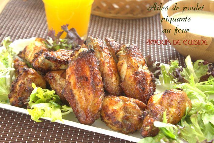 Ailes de poulet piquantes au four Bonjour tout le monde, Allez les amis, on y va pour un bon déjeuner avant le debut du ramadan? A la demande de mon epoux, je lui ai preparé ces ailes de poulet piquantes au four, qui sont juste a croquer. Trés fondantes, et surtout bien piquantes… comme il ...