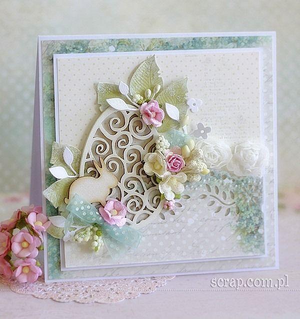Easter  card  http://www.hurt.scrap.com.pl/wielkanocne-jajka-tekturowe-duze-azurowe-5szt.html http://www.hurt.scrap.com.pl/wielkanocne-zajaczki-10szt.html