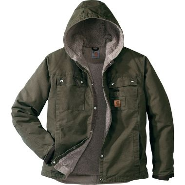 Carhartt® Hooded Multipocket Jacket — Regular at Cabela's