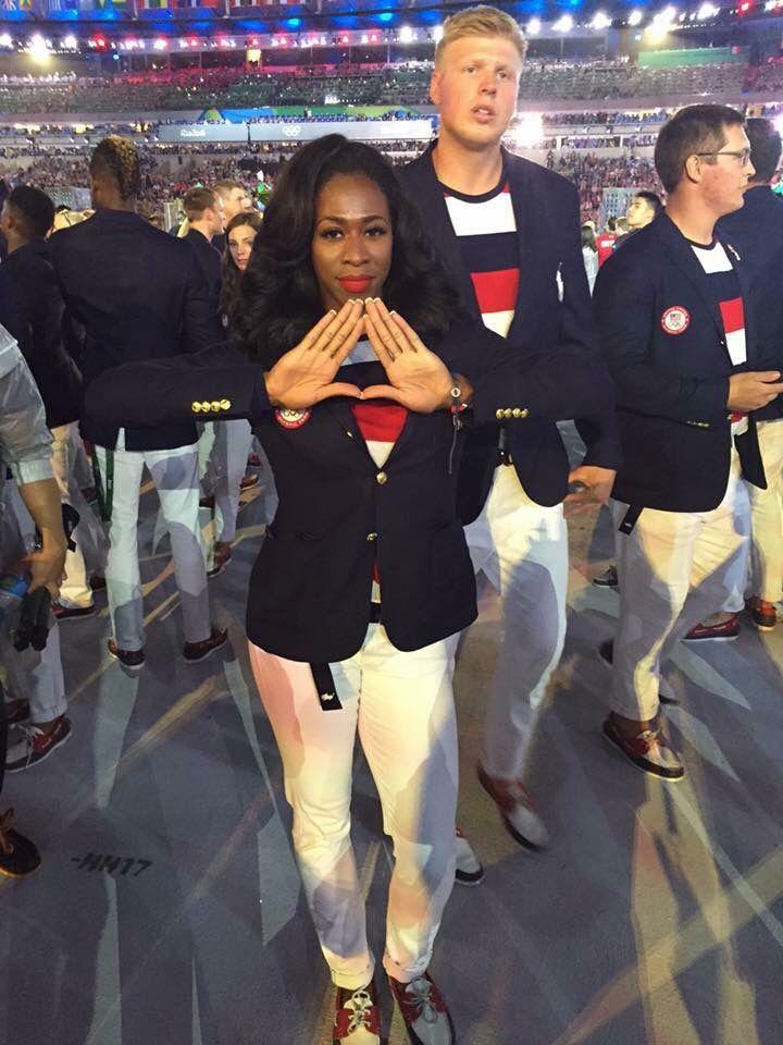Olympian Soror Francena McCorory                                                                                                                                                                                 More
