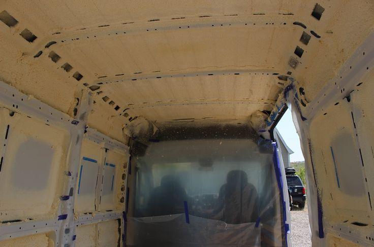 ProMaster DIY Camper Van Conversion -- Insulation