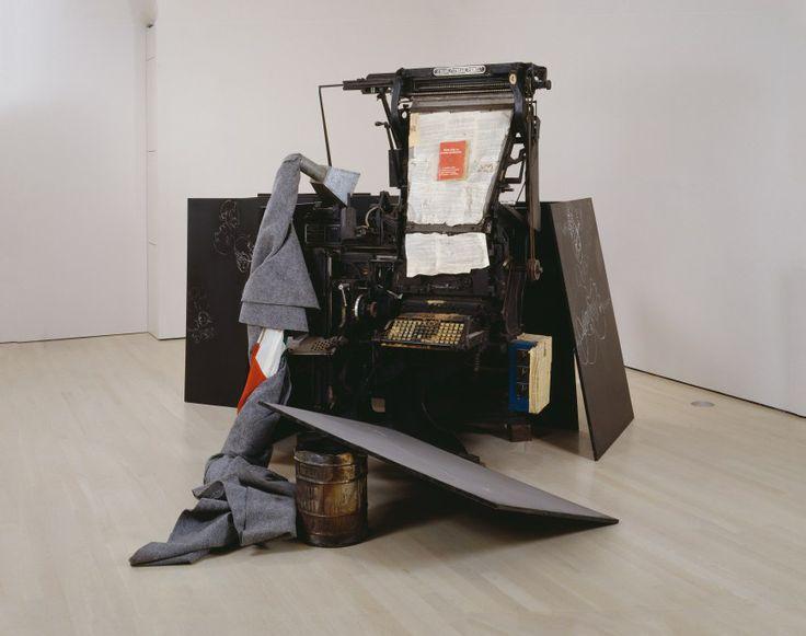 FASHION – SCULPTURE – COOKING:  Terremoto by Joseph Beuys - ©2016 Artists Rights Society (ARS), New York/VG Bild-Kunst, Bonn
