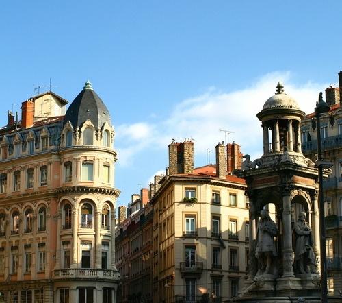 Place des Jacobins in Lyon.