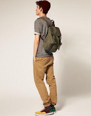 Ropa de hombres | Moda Masculina | Moda Hombres: Combinar pantalon chino color mostaza