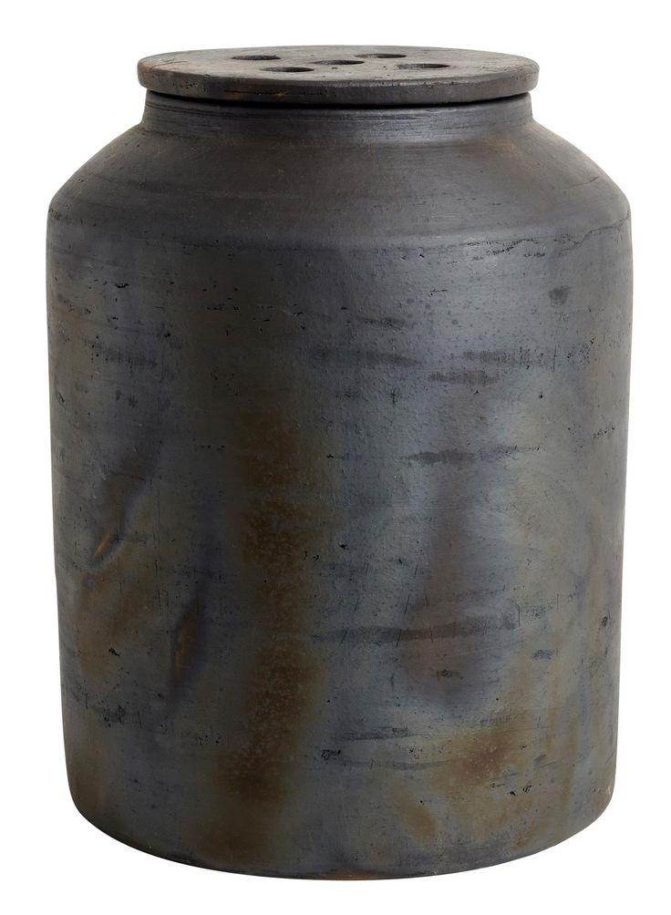Jar with lid Hazel