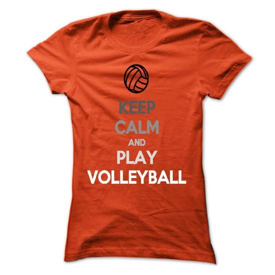 I Love keep calm and play volleybal T-Shirts