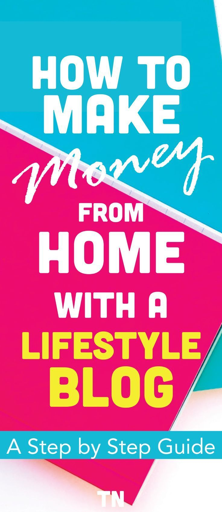 an easy guide for beginners on how to start a money making lifestyle blog. Make money online | Blogging for Beginners |