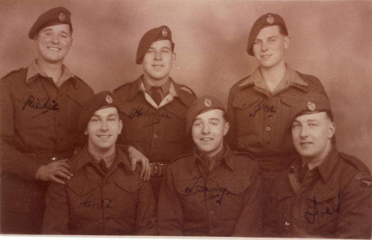 Possibly 65 Sqn group photo 11-12-46 Richie, Herbie Hunt,Joe. Bottom Arnie,Tommy Fred Swales.jpg (1735×1120)