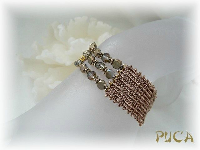 Les perles de PUCA: Zia Arani, Perl De, Perl, Beads Bracelets, For, Inspiration Beads, Puca Sur, De Puca, Schéma Bracelets