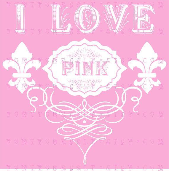 #MJB Pretty-N-Pink makes me happy #PinkWords #ILovePink ♡Love it's Love♡