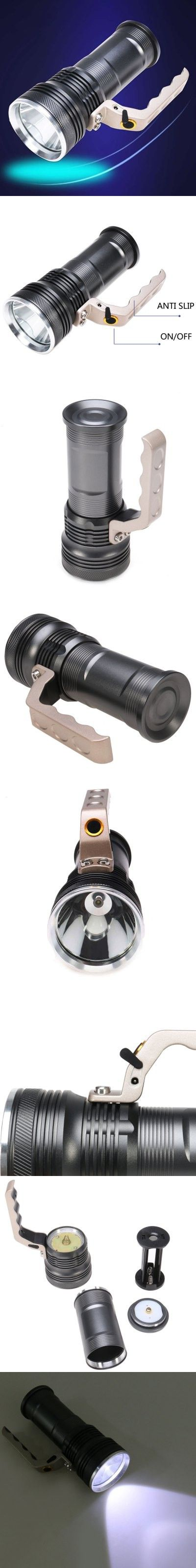 CREE XML T6 2000Lm Rechargeable LED Flashlight Torch